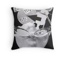 The great dream machine Throw Pillow