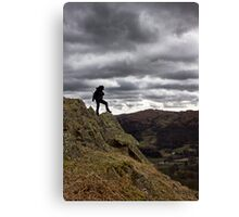 High On A Hill Canvas Print