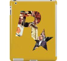 Rockstar Montage Cutout  iPad Case/Skin