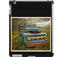 Old Blue Ford Truck iPad Case/Skin