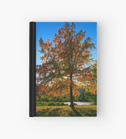 October's Glow Hardcover Journal