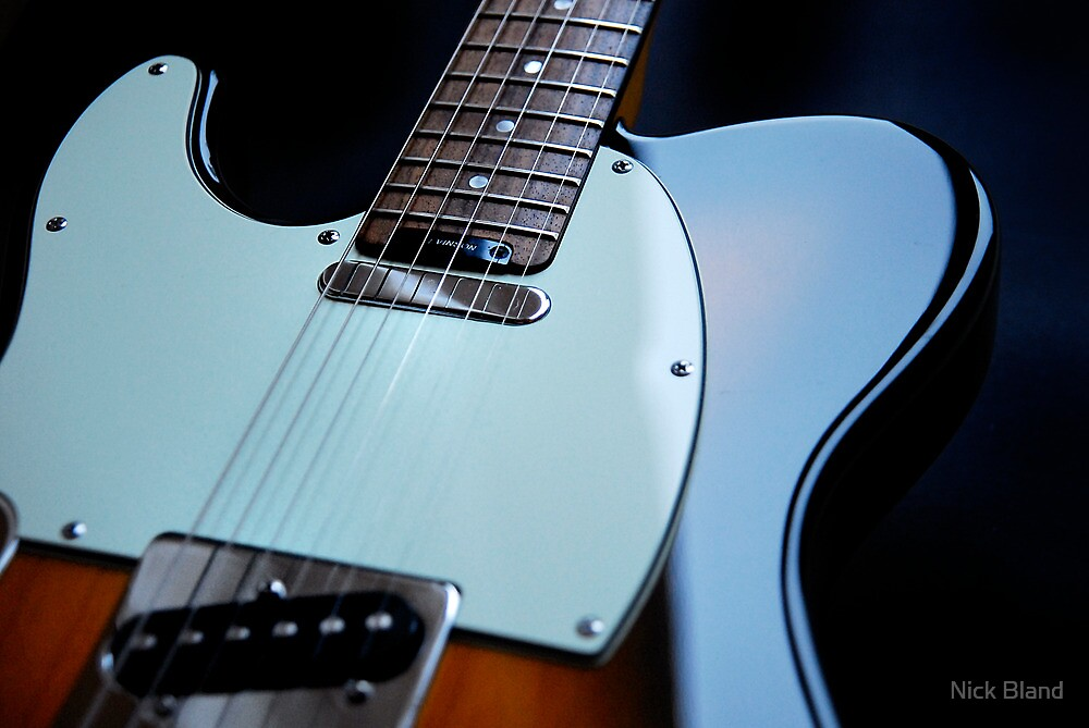 Guitar Icon : '52 Tele ? by Nick Bland