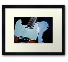 Guitar Icon : '52 Tele ? Framed Print
