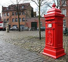 Post Box Red by Smeeff