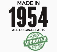 Made In 1954 All Original Parts - Quality Control Approved by LegendTLab