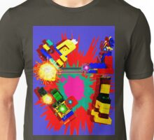 Retro Fighting Robots Unisex T-Shirt