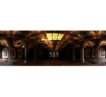 Bethesda Terrace. Central Park, Ny. Photographic Print