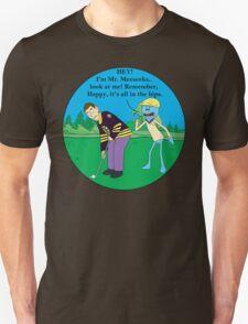 Mr. Meeseeks Happy Gilmore Parody Unisex T-Shirt