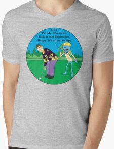Mr. Meeseeks Happy Gilmore Parody Mens V-Neck T-Shirt