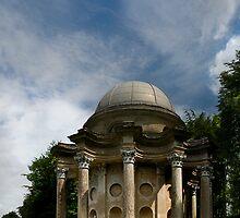 Gazebo,Stourhead Gardens, england by garyfoto
