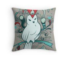 Noctua Throw Pillow