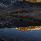 Reflection at Cwm Idwal by Rory Trappe