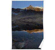 Reflection at Cwm Idwal Poster