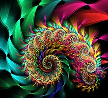 Radial Blur Spiral by wolfepaw