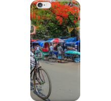A rickshaw puller became photographers iPhone Case/Skin