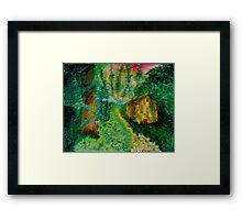 Reclaiming the Woods Framed Print