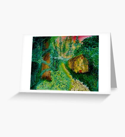 Reclaiming the Woods Greeting Card
