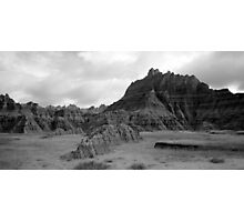 The Badlands Photographic Print