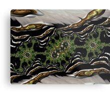 Fractals, landscape, 3d Metal Print