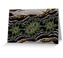Fractals, landscape, 3d Greeting Card