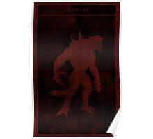 Evolve Goliath Gaming Poster Poster