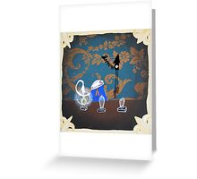 Light Bulb Tester (card version) Greeting Card