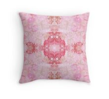 Girls Room-Haunting pink Throw Pillow