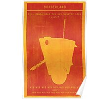 Borderlands Claptrap Gaming Poster Poster