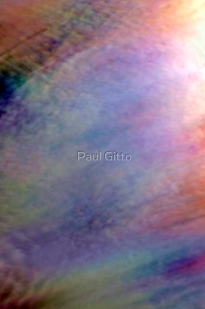 Irridescent Abstract by Paul Gitto