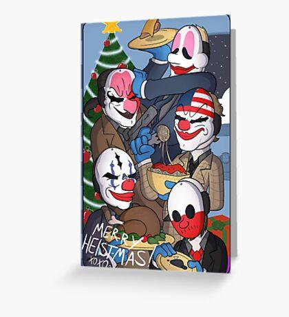 Merry Heistmas! Greeting Card