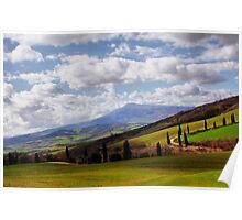 Rolling Hills Poster