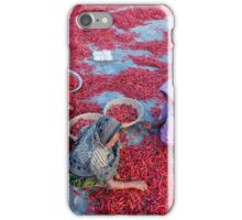 Empowering Woman with Red Chili iPhone Case/Skin