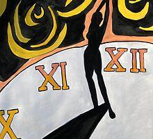 The Human Sundial Conceptual Artwork by KBStudios
