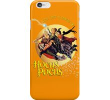 It's just a bunch of Hocus Pocus iPhone Case/Skin