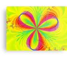 Colorful Flower Ribbons Metal Print