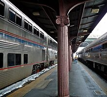 Washington DC - Union Station - Series - Capitol Limited Train © 2010 by Jack McCabe