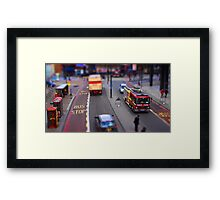 Toy Town London Framed Print