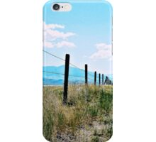Montana Fence iPhone Case/Skin