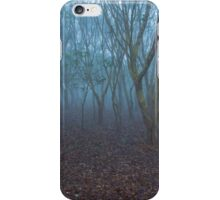 FOGGY FOREST MORNING iPhone Case/Skin