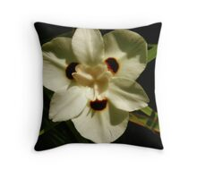 Delicate Ivory Throw Pillow