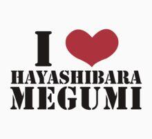 I Heart Hayashibara Megumi - White One Piece - Short Sleeve