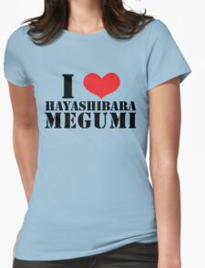 I Heart Hayashibara Megumi - White T-Shirt