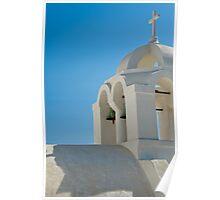 Santorini's Rooftops 3 Poster