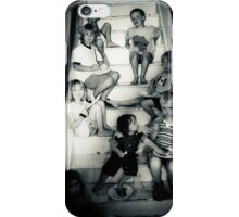 The Kids Table at Thanksgiving : where you eat when the cousins outnumber the chairs iPhone Case/Skin