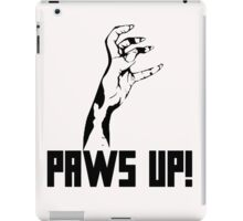 Paws Up! iPad Case/Skin