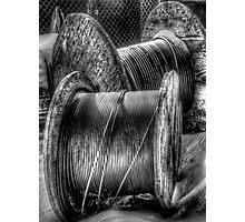 Wire Spools Photographic Print