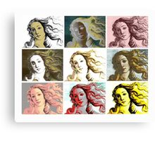 Warhol Venus Canvas Print