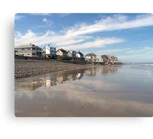 Seashore Neighborhood Canvas Print