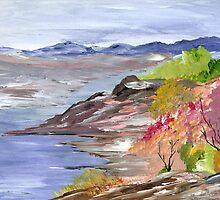 Sander's Rocky Point by Ginger Lovellette