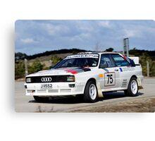 Audi Quattro Canvas Print